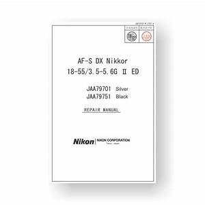 Nikon Jaa79701 Repair Manual Af