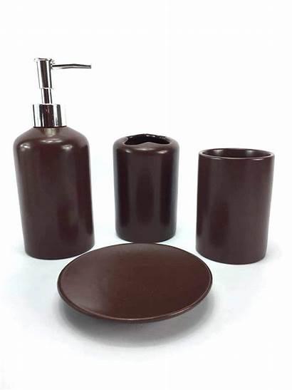 Bathroom Mart Brown Accessory Piece
