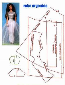 poupee boffff 1 et 2 et 3 doudous patrons patterns With patron robe poupee barbie