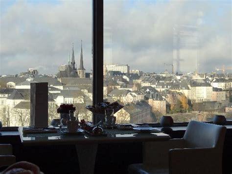 vue depuis le restaurant picture of sofitel luxembourg