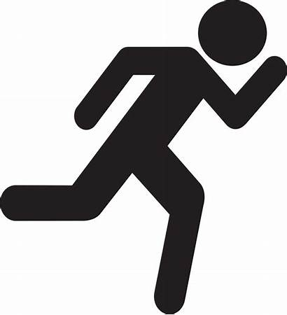 Clipart Running Runner Stick Figure Transparent Library