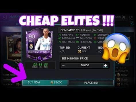 cheap elite players  fifa mobile  season