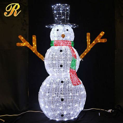 outdoor lighted snowman decorations outdoor lighted snowman 3d led christmas light snowman led