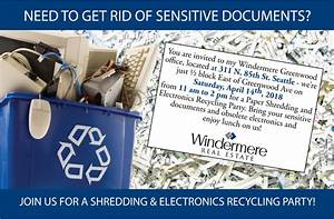 windermere greenwood shredding event 2018 windermere With shredding sensitive documents