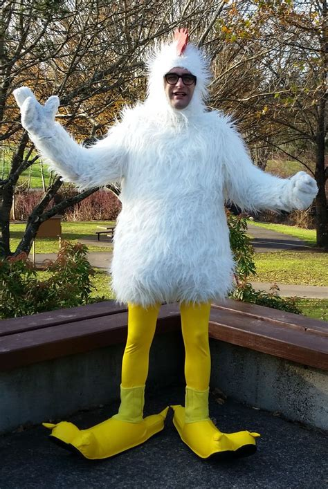 pdx chickenman   feel  ridiculous  wear