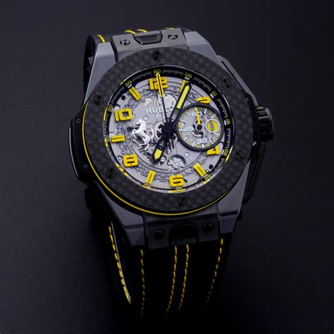 Warranty or guarantee availablewith every item. Hublot Big Bang Ferrari Chronograph Automatic // Limited Edition // 401CQ // Unworn - Premier ...