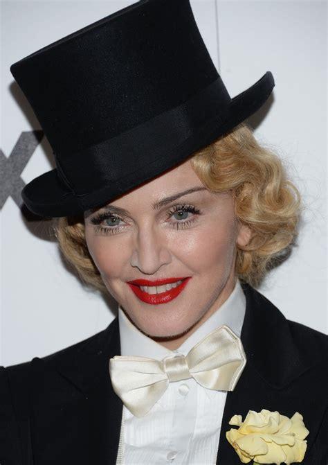 madonna top hat madonna  stylebistro