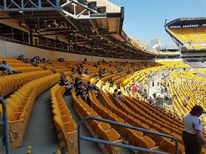 Heinz Field Seating For Steelers Games And Pittsburgh