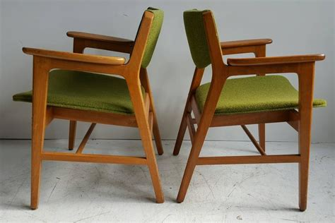 h gunlocke chair company classic mid century modern armchairs manufactured by w h