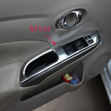 nissan versa almera  abs chrome interior door