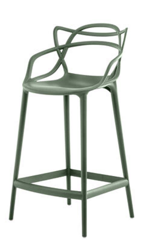fauteuil de bureau vert chaise de bar masters h 65 cm polypropylène vert sauge