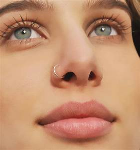 20 Eye Catching Hoop Nose Piercing Pictures  U2013 Sheideas