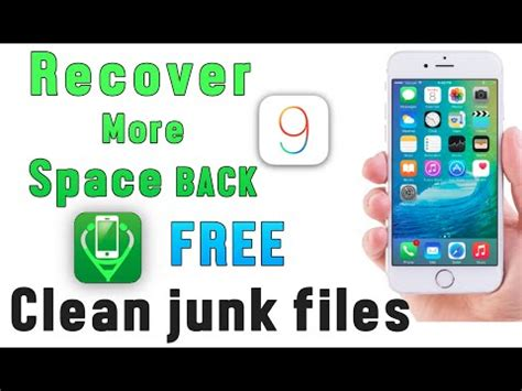 how to make more room on iphone how to clean iphone junk files get more storage space