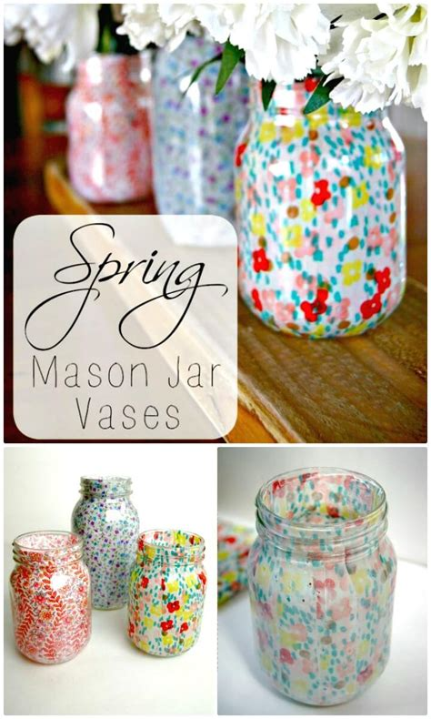 130 Easy Craft Ideas Using Mason Jars For Spring And Summer