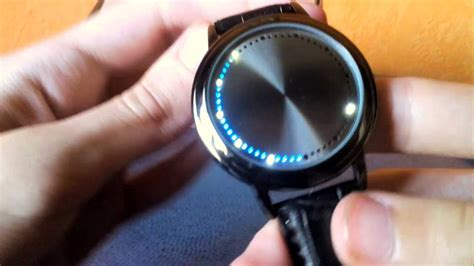 Water Resistant Watch Led Touch Screen Wristwatch Review