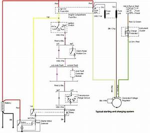 99-04 Mustang Gt Charging System Wiring Diagram
