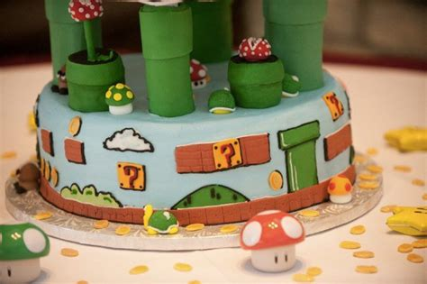 This Super Mario Bros Wedding Cake Is Mind Blowing Pics