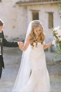 Half Up Half Down Wedding Hairstyles MODwedding