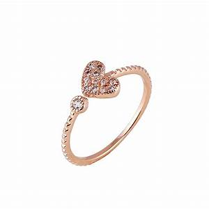 heart shape affordable wedding rings fashion simple With simple cheap wedding rings