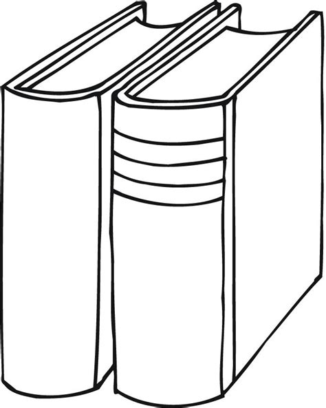 printable outline of books for preschoolers