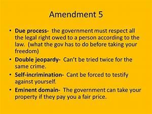 Amendment 5 Clipart (12+)