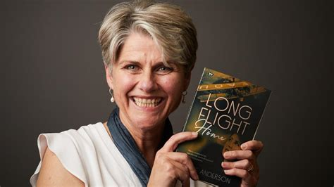 lainie andersons book long flight home launched