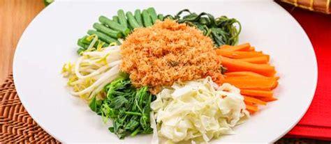 urap sayuran resep  dapur kobe