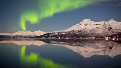 Aurora Northern Lights Norway Tromso Wallpapers Tromsoe