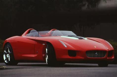 Zeldzame One-off Ferrari Pininfarina Rossa Naar