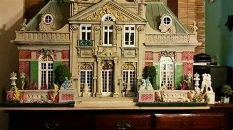 William K O'Neill Miniatures Casas de muñecas Casas y
