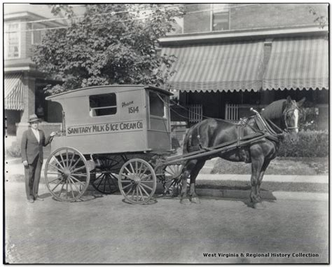 56 Best Images About Horse Drawn Milk Wagons On Pinterest