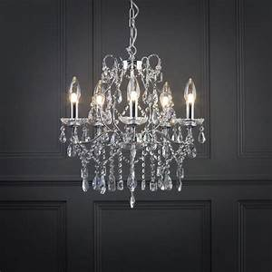 marquis by waterford annalee large led 5 light bathroom With chandeliers for bathrooms uk