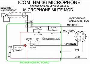 Icom Microphone Wiring Diagram