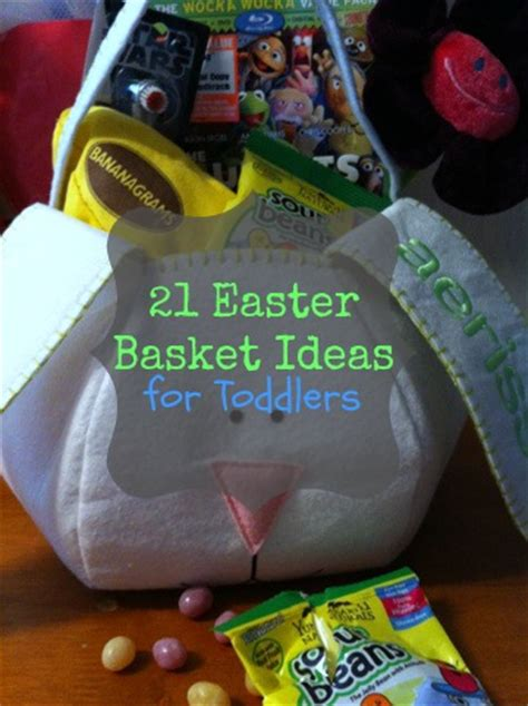 21 easter basket gift ideas for toddlers and preschoolers 915 | easter basket stuffed1