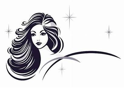 Salon Clip Nail Vector Hair Icon Illustrations