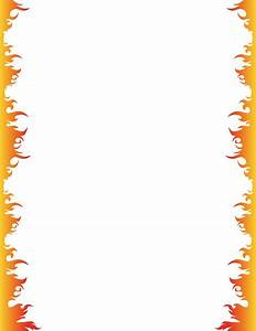 Fire page border. Free downloads at http://pageborders.org ...