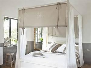 deco chambre avec lit baldaquin With chambre avec lit baldaquin