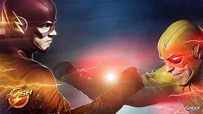 Flash Wallpapers Reverse Eobard Thawne Suit Cw