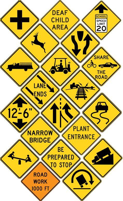 traffic road signs   clip art  clip