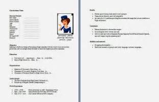 contoh resume cv yang baik contoh cv curriculum vitae yang baik dan menarik kerjayuk page 276 travel international