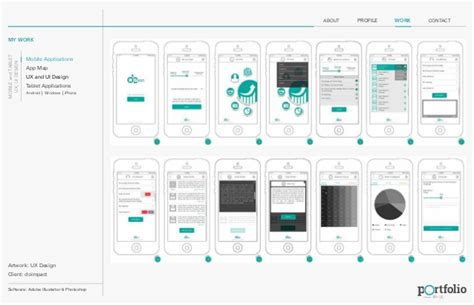 ux designer portfolio ux ui design portfolio for mobile and tablet applications