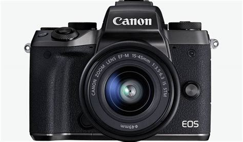 specifications features canon eos m5 canon uk