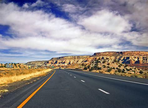 Route 66 New Mexico Winter Landscape Stock Photo Getty Free Images Landscape Coast Horizon Mountain Cloud