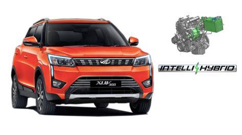 upcoming mahindra xuv  mild hybrid auto startstop