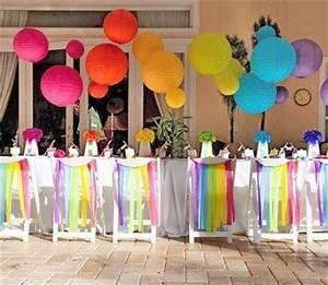 Decoration De Table Pour Anniversaire Adulte : d coration d anniversaire originale lire ~ Preciouscoupons.com Idées de Décoration