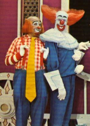 cookie  bozo  clown famous clowns