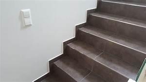 Pose De Plinthe Carrelage : plinthe escalier carrelage tendance d co tuiles c ramiques ~ Melissatoandfro.com Idées de Décoration
