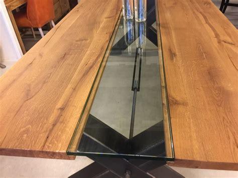 tischplatte glas 200 x 100 esstisch eiche tischplatte tisch glas massivholz