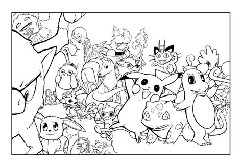 Pokémon Coloring Pages!