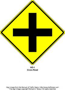 Yellow Traffic Signs and Meanings